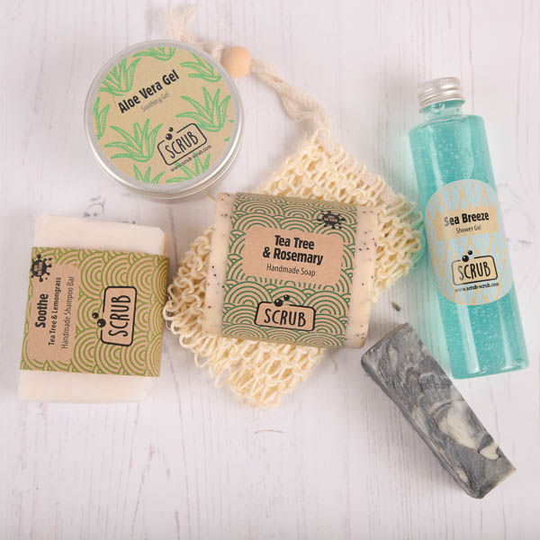 Mens cleansing gift pack