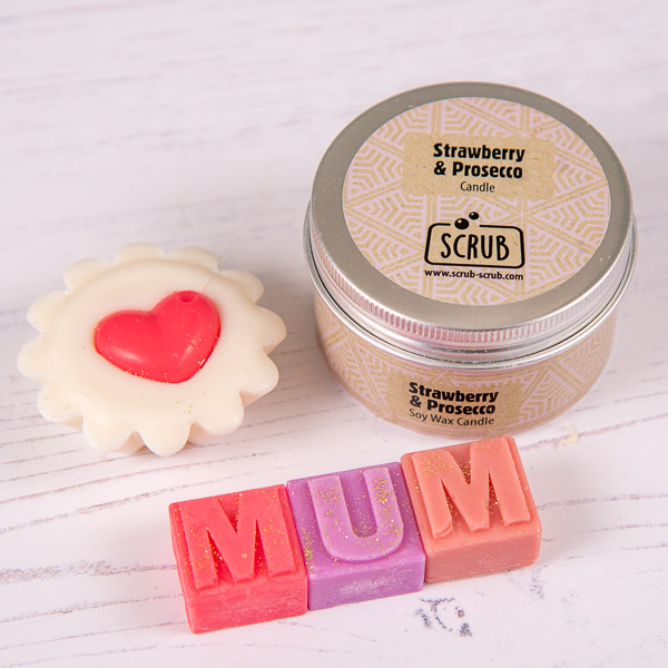 Mothers Day Wax Melts & Candle Set